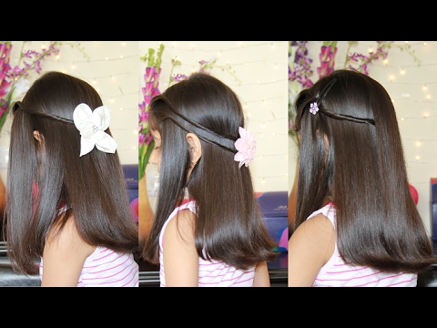 Quick Hairstyles For Long Hair Party Wear Hairstyles Youtube