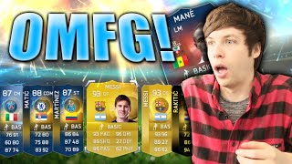 One of TWOSYNC's most viewed videos: MESSI PACKED TWICE IN TEAM OF THE SEASON (TOTS)!! - FIFA 15 PACK OPENING