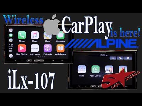 Wireless CarPlay is here with Alpine's NEW iLx 107