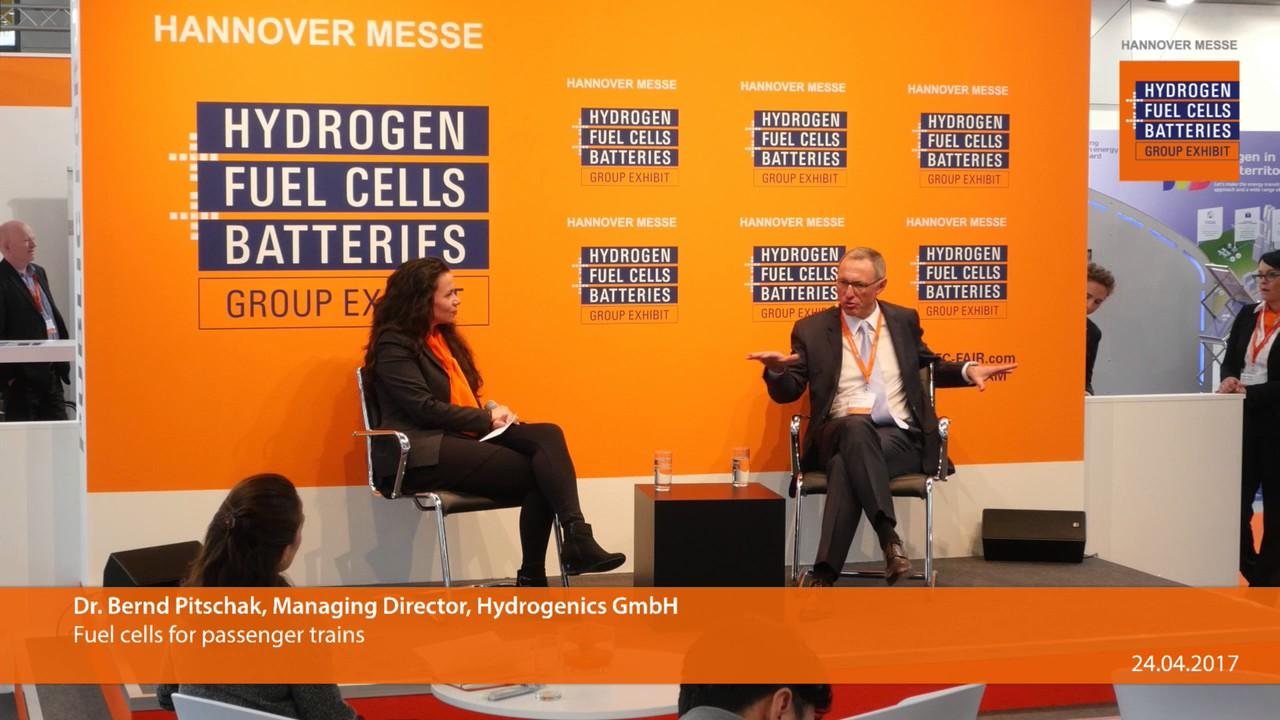 Hydrogenics Corporation at Europe's largest hydrogen, fuel
