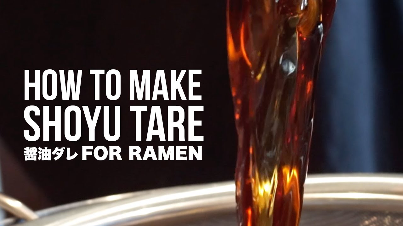 Download HOW TO MAKE RAMEN SHOYU TARE (ATTEMPTING A JAPANESE TARE RECIPE)