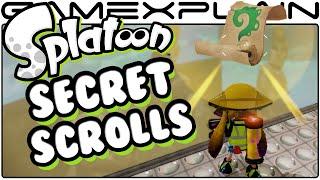 Splatoon - Find All 27 Sunken Scroll Locations - Guide & Walkthrough