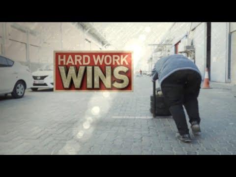 200-Pound Victory: Hard Work Wins