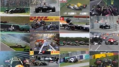 Pastor Maldonado Crash Compilation
