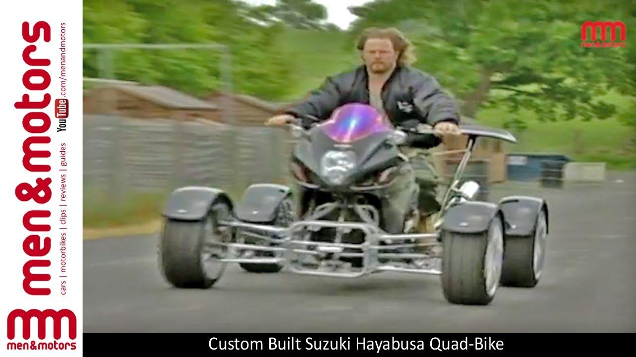 Custom Built Suzuki Hayabusa Quad Bike Youtube