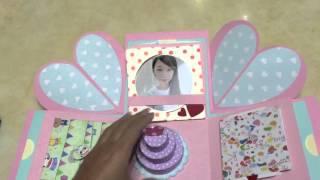 閨蜜生日(有貼照片)禮物盒+10個機關