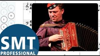 Как играть на гармони Прощальное танго (Юрий Щербаков) | How to play on accordion | SMT Pro