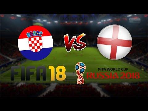 KROATIEN - ENGLAND | MEGA SPANNEND 😱| FIFA 18 WM HALBFINALE | Prognose | Highlights
