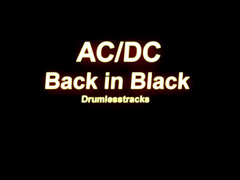 AC/DC - Back in Black [Drumlesstrack]