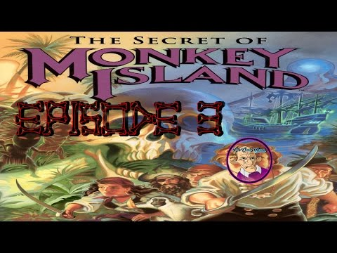 The Secret of Monkey Island Ep 3 - George Lucas is such a troll