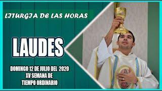Oración de la mañana (Laudes ) DOMINGO 12 DE JULIO 2020   Padre Sam   Producción Crisol