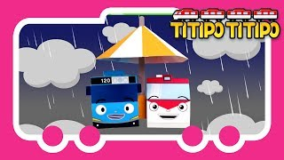 Titipo Songs l Titipo Weather Song l Tayo Nursery Rhymes l Tayo the Little Bus