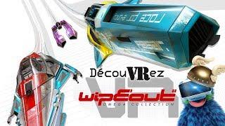 DécouVRez : WIPEOUT VR | La Killer App du PSVR | PS4 Pro | VR Singe