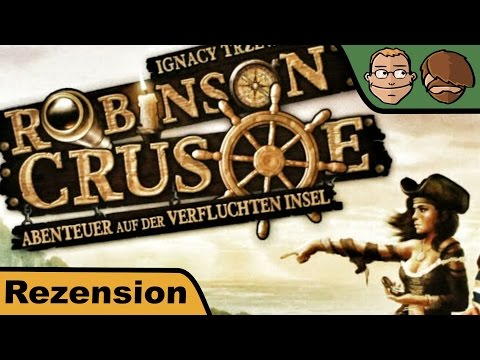 Robinson Crusoe - Brettspiel Test - Board Game Review #11