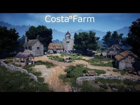 Black Desert Online - Costa Farm & Alejandro Farm Tour