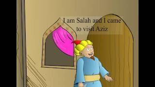aprender inglés para niños (dibujos animados de la Historia)
