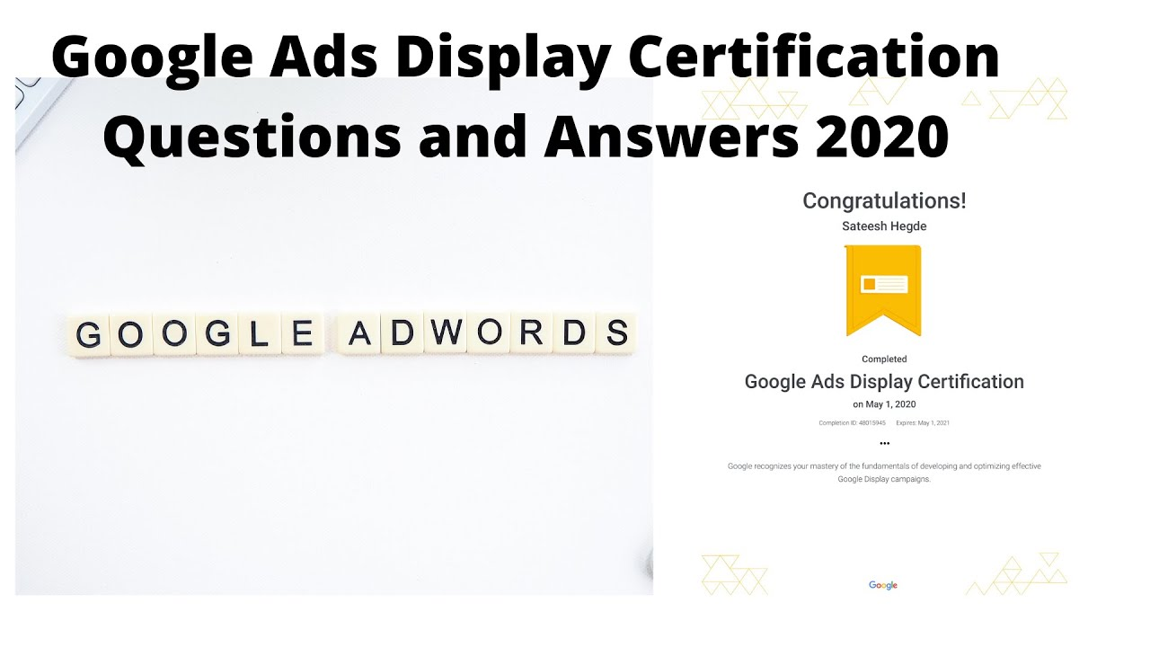 certification ads display exam answers