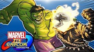 Marvel vs. Capcom Infinite - HULK SMASHES ALL! (H2O Vs Cartoonz!) thumbnail