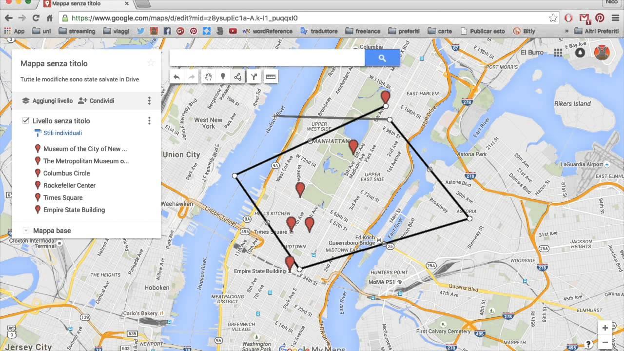 Como crear un itinerario en google maps youtube como crear un itinerario en google maps gumiabroncs Choice Image