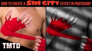 Photoshop Tutorials: How to Create a Sin City Effect in Photoshop