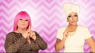 RuPaul's Drag Race Fashion Photo RuView with Raven and Delta Work