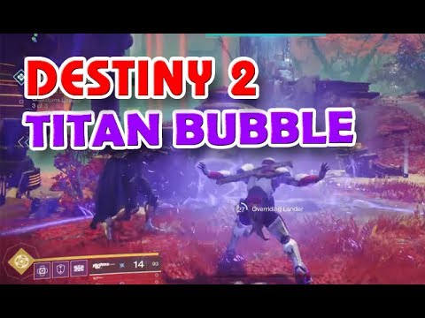 Destiny 2 - Titan Sentinel & Bubble + BETA News   Deutsch / German