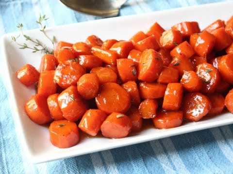 Bourbon Glazed Carrots - Special Occasion Carrot Side Dish Recipe