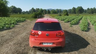 Forza Horizon 4  - 600HP VOLKSWAGEN GOLF 6 R - Test Drive - 1080p60FPS