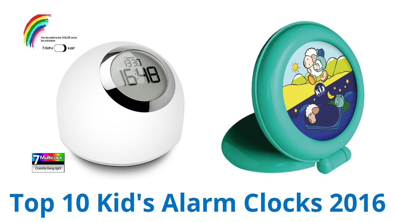 Best Kids Alarm Clocks YouTube - Best alarm clocks