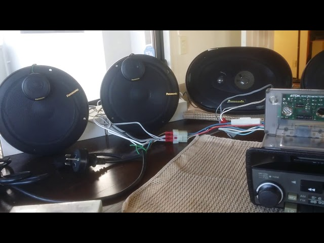 Volvo CR 2170 Stereo   Dolby B Test with DBX tapes