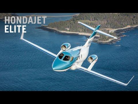 Honda Aircraft Debuts New HondaJet Elite – AINtv