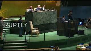 LIVE: World leaders gather for UN General Assembly General Debate: morning session