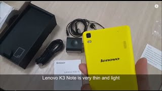 Lenovo K3 Note Review Videos