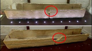 Child breaks 800 year old Ancient Stone Coffin as family PUT the kid in it at Southend museum