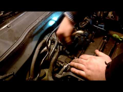 Opel Astra G - Как снять впускной коллектор (twinport)