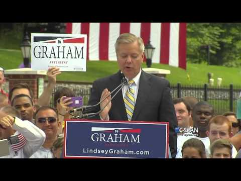 Senator Lindsey Graham Presidential Campaign Announcement Full Speech (C-SPAN)