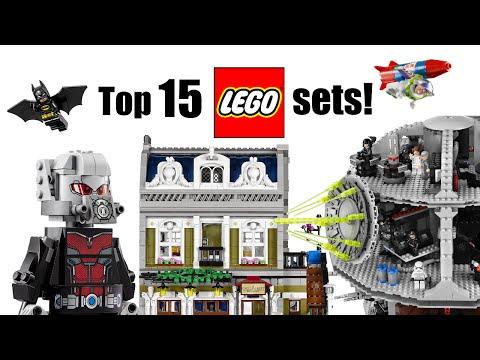 Top 15 Lego Sets!