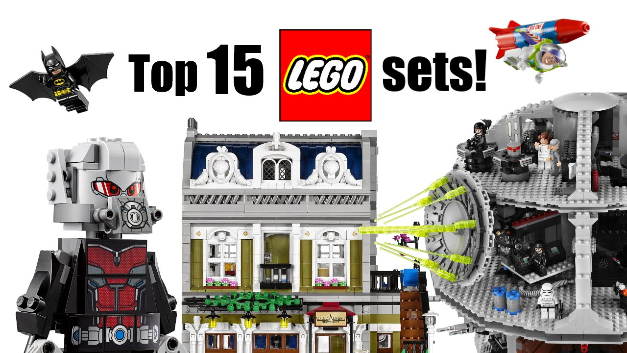 top 15 lego sets youtube