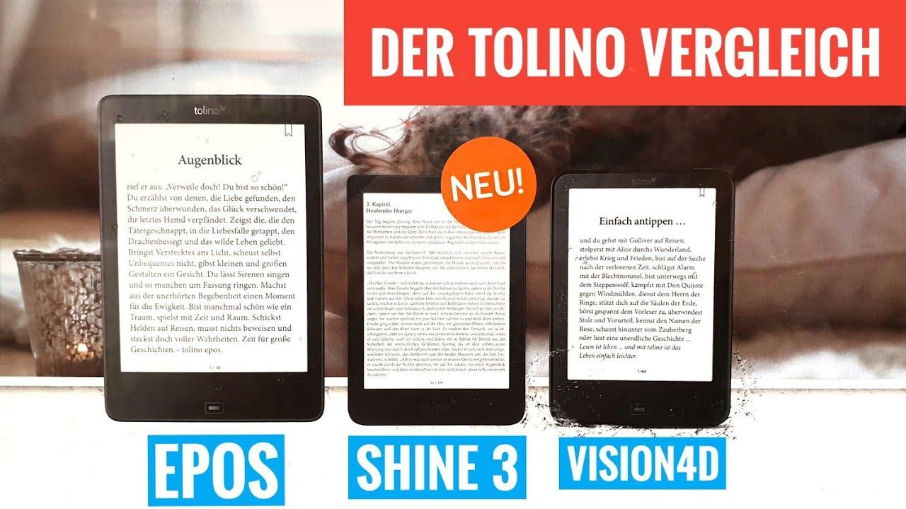 Welcher Tolino EReader Ist Der Beste? Der Grosse EBook