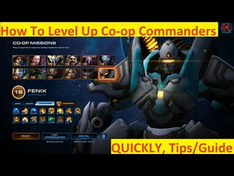Best Co Op Commander Sc2 2019 StarCraft 2: How To Level Co op Commanders Quickly, Co op Missions