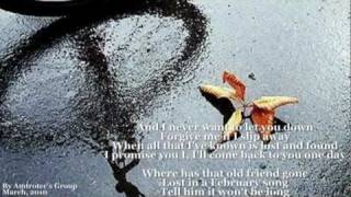 Josh Groban - February Song (W/Lyrics)