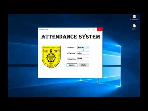 RFID Based Attendance System - Using VB + MySQL Database
