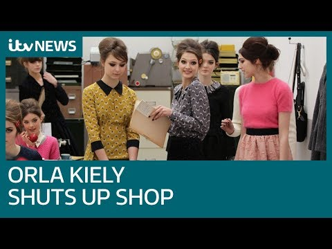 Orla Kiely shuts up shop as fashion brand collapses into voluntary liquidation | ITV News