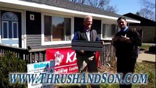 Kaycan Vinyl Siding (Part 2) I Thrush & Son Complete Home Improvements I Dayton, Ohio Siding