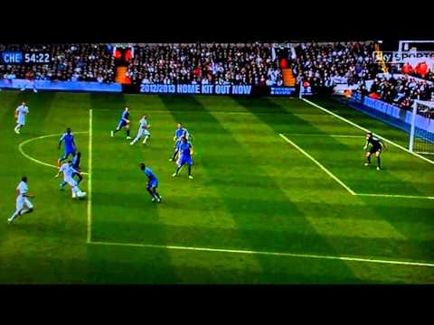 Tottenham v Chelsea 20/10/12 Jermaine Defoe Goal