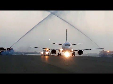 Первый рейс Актау - Ургенч