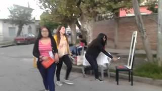Evangelizando en Villa la Rana