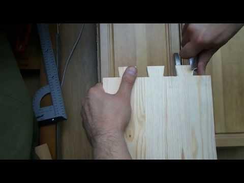 Cмотреть Деревянная кровать с ящиками.Часть 2. Выдвижные ящики.