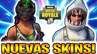 🔴 WAITING **NEW SKINS** with *NEW WEAPON* *PAVOS SWEEPS* +690 WINS - FORTNITE