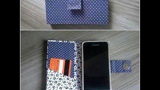 Capinha para celular – Sem costura by Rafaela Ferreira